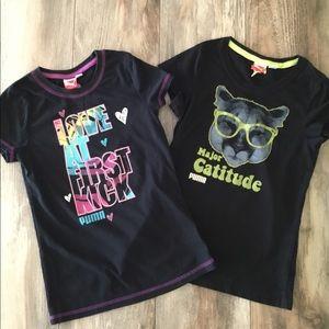 Girls Puma Graphic T-Shirts